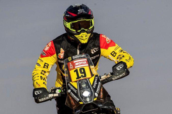 Svitko prišiel do cieľa prvej etapy Rely Dakar 2021 na 14. mieste, lídrom motocyklistov je Price