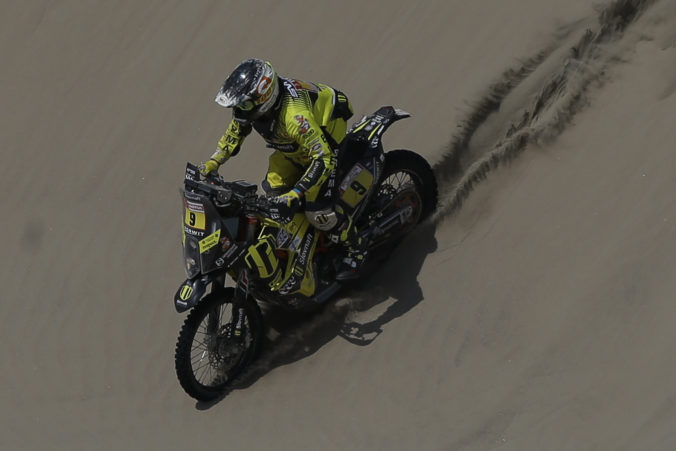 Štefan Svitko si na Dakare polepšil, v najdlhšej etape skončil deviaty