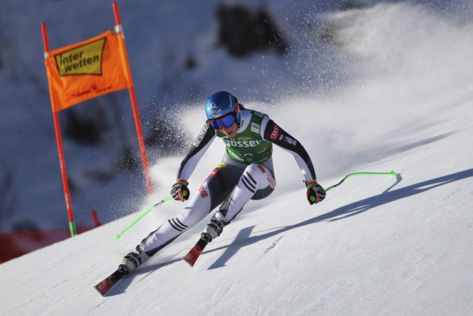 Petra Vlhová dosiahla v St. Antone výborný výsledok a upevnila si post líderky Svetového pohára
