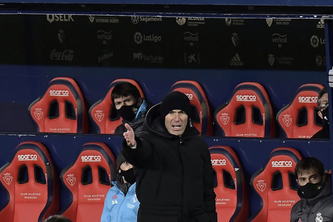 Zinedine Zidane kritizoval vedenie La Ligy, odmietli preložiť zápas napriek hustému sneženiu