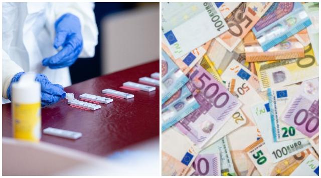 Ministerstvo financií uvoľnilo peniaze, mobilné odberové miesta dostanú 30 miliónov eur