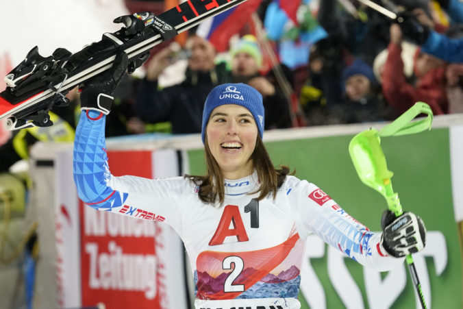 Vlhová ešte obrovský slalom v tejto sezóne nevyhrala, pokúsi sa to však zmeniť v Kranjskej Gore