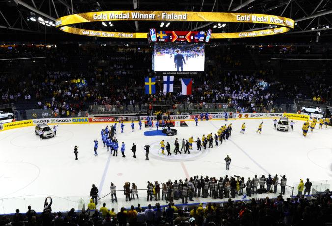 MS v hokeji 2021 by sa mohli hrať aj na Slovensku, hľadá sa náhrada za Bielorusko
