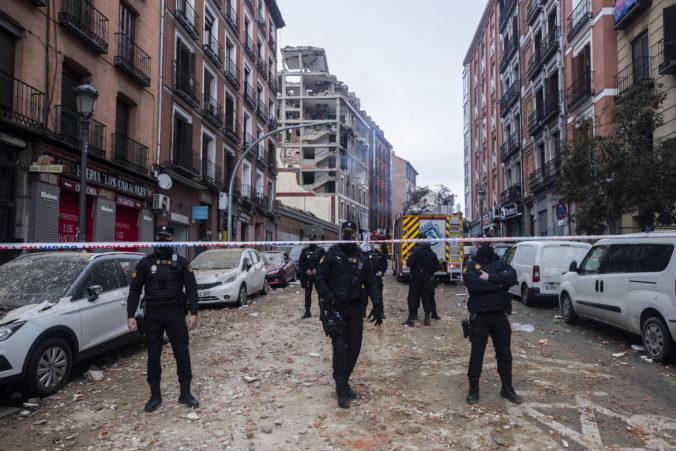 Centrom Madridu otriasol silný výbuch, pri ktorom zahynuli najmenej dvaja ľudia