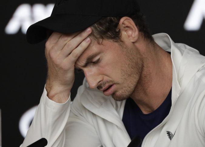 Andy Murray sa musel odhlásiť z Australian Open, pre karanténu by v Melbourne nestihol úvod turnaja