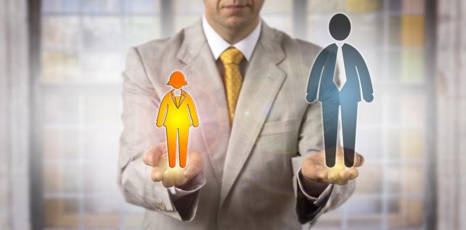 Platy mužov a žien za rovnakú prácu sa stále výrazne líšia, rozdiely môžu byť aj v stovkách eur