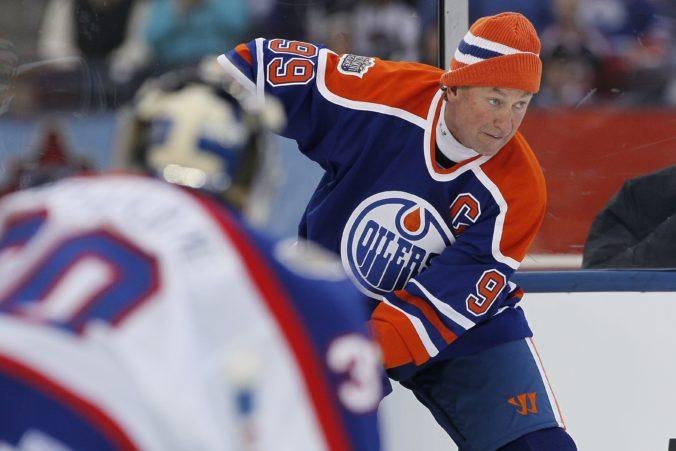 Najlepší hokejista histórie a držiteľ mnohých rekordov, Wayne Gretzky oslavuje 60 rokov