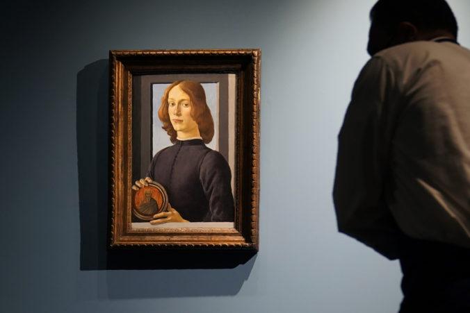 Botticelliho obraz išiel do dražby, nového majiteľa stál viac ako 92 miliónov dolárov