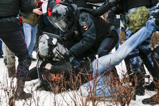 Ruské úrady varujú ľudí pred účasťou na demonštráciách za prepustenie Alexeja Navaľného