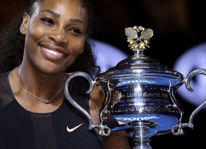 Serena Williamsová nemá prehľad o svojich trofejách, niektoré možno odcudzili počas párty u nej doma