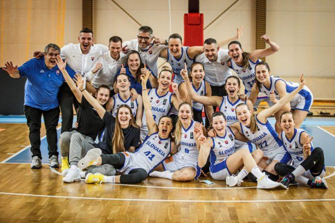 "Slovenské basketbalistky postúpili na majstrovstvá Európy, rozhodli v zápase s ""nožom na krku"""