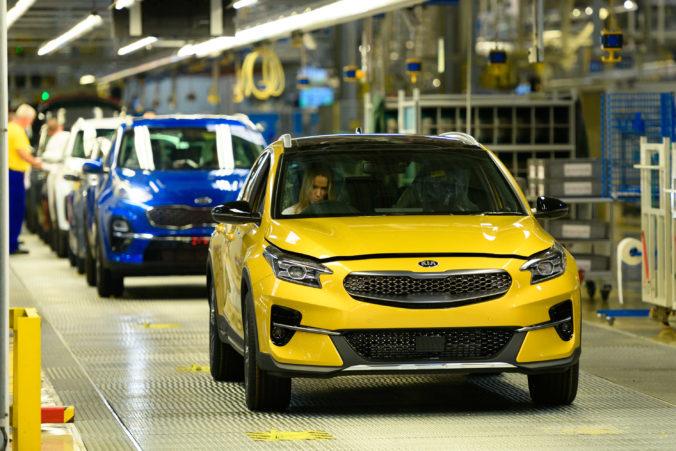 Žilinská Kia vyrobila vlani takmer o štvrtinu menej áut, väčšinu tvoril model Sportage