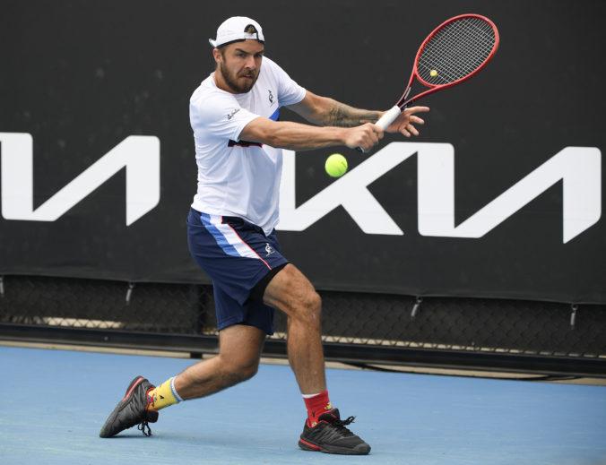 Andrej Martin sa lúči s Australian Open, vzdoroval len v prvom sete