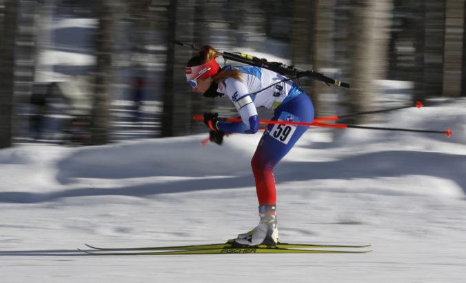 Eckhoffová si z rýchlostných pretekov odniesla zlato, výborne sa umiestnila aj Paulína Fialková