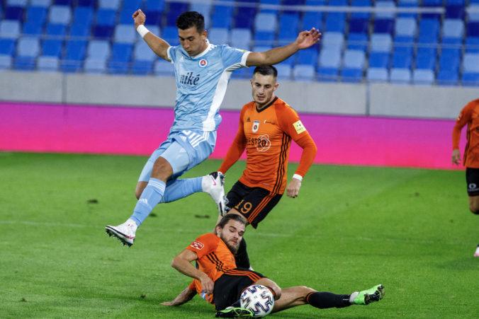 Zápas Ružomberka proti Slovanu sa skončil bezgólovou remízou, boj o titul sa však zamotáva