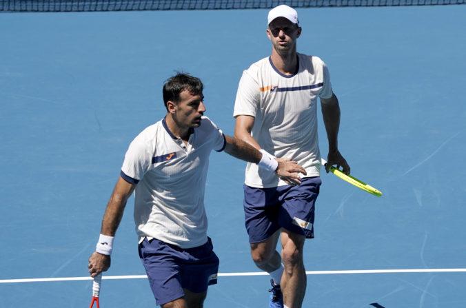 Polášek s Dodigom postúpili na Australian Open do štvrťfinále štvorhry