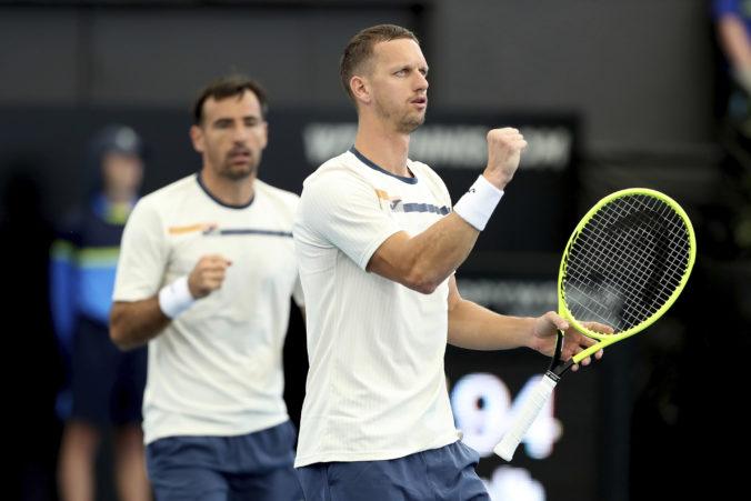 Polášek s Dodigom sa prebojovali do semifinále štvorhry na Australian Open