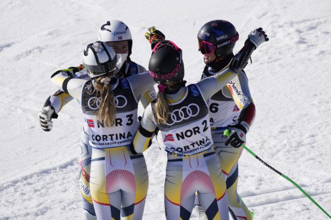 Nóri získali zlato v tímovej súťaži na MS v Cortine d'Ampezzo, vo finále si poradili so Švédmi