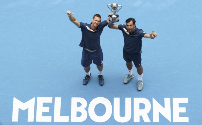 Fantastickí Filip Polášek a Ivan Dodig vyhrali štvorhru na Australian Open (foto)