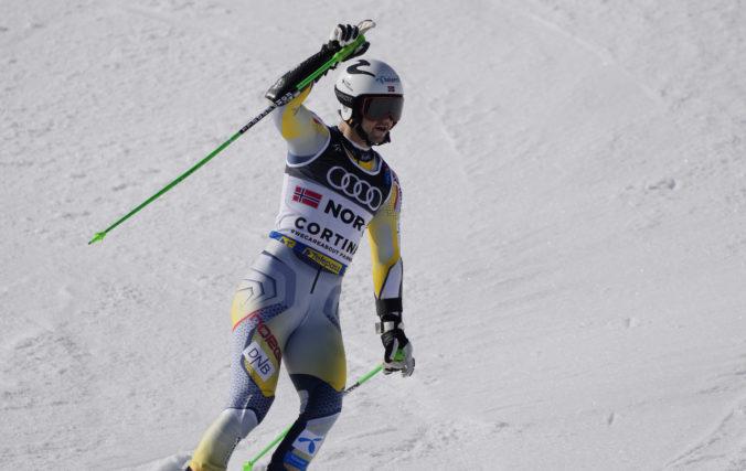 Foss-Solevaag získal zlato v slalome na MS v Cortine d'Ampezzo, Slovák Baláž skončil na 24. mieste