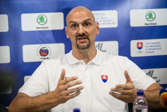 Tabak skončil ako tréner slovenských basketbalistov, prezradil aj dôvod odchodu