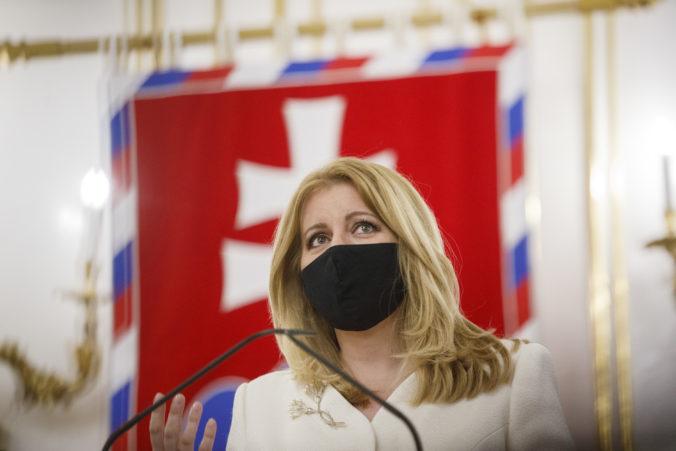 Prezidentka Čaputová žiada od Krajčího sekvenovanie vzoriek, o pandémii bude hovoriť aj s premiérom