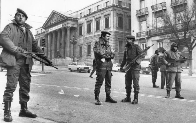 Španielsko si pripomína 40. výročie neúspešného pokusu o štátny prevrat