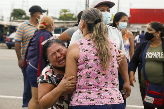 Nepokoje v troch ekvádorských väzniciach si zatiaľ vyžiadali 79 obetí spomedzi väzňov