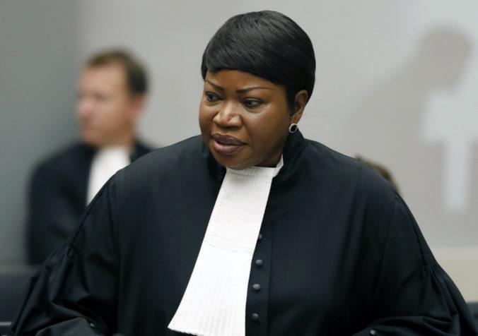 Hlavná prokurátorka Medzinárodného trestného súdu začala vyšetrovanie zločinov v Palestíne