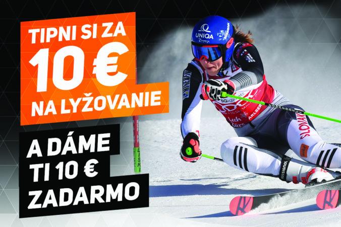 Zapojte sa do akcie Tiket za tiket a získajte 10 eur zadarmo!
