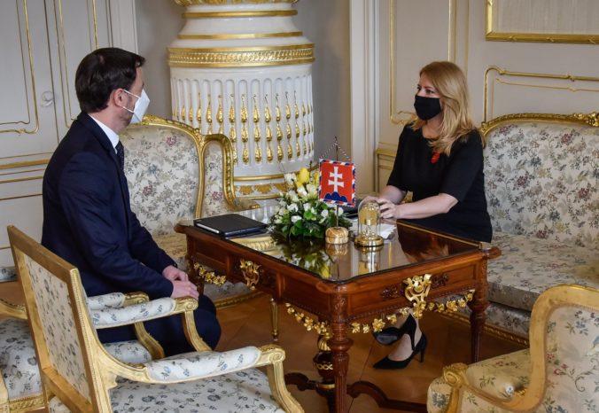 Heger ukázal Čaputovej plán obnovy, prezidentka sa s vybranými prioritami stotožňuje