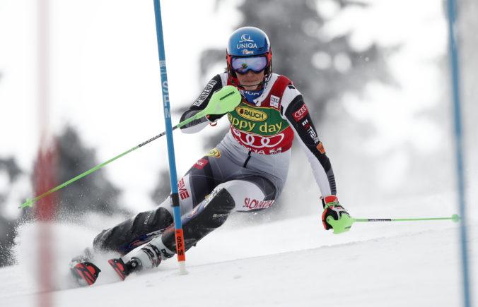 Skvelá Petra Vlhová je líderkou 1. kola slalomu, v Jasnej predviedla bezchybnú jazdu (video)