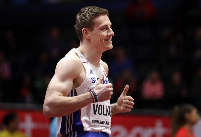 Skvelý Volko sa prebojoval do osmičky elitných šprintérov histórie, z halových ME má už tri medaily