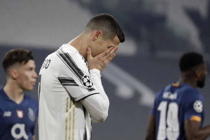 Ronaldo urobil v múre neodpustiteľnú chybu, Juvetus končí v Lige majstrov (video)