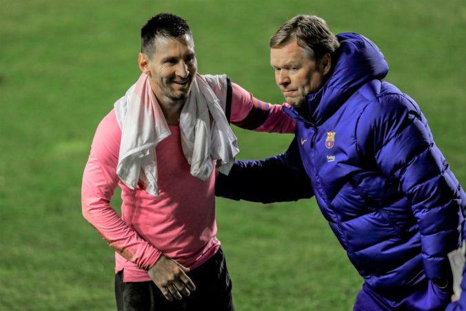 Odíde Messi z Barcelony do Paríža? Tréner Koeman ho chce ešte presvedčiť o budúcnosti tímu