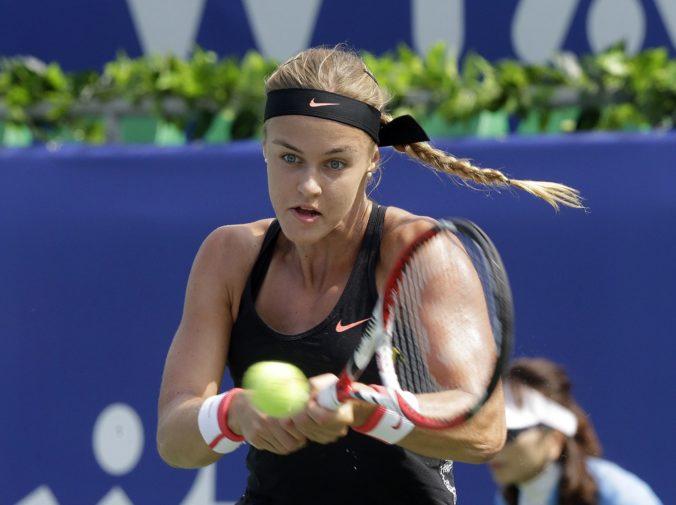 Schmiedlová dohrala na turnaji WTA v Mexiku, vo štvrťfinále nestačila na Češku Bouzkovú