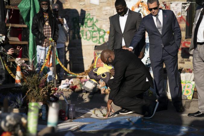 Rodina zosnulého Georgea Floyda dostane od mesta Minneapolis odškodné 27 miliónov dolárov