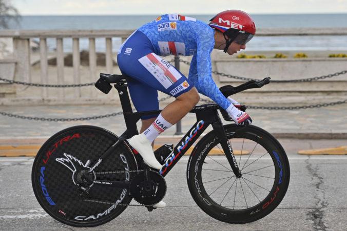Pogačar sa stal celkovým víťazom pretekov Tireno-Adriatico, Sagan sa nedostal do prvej stovky