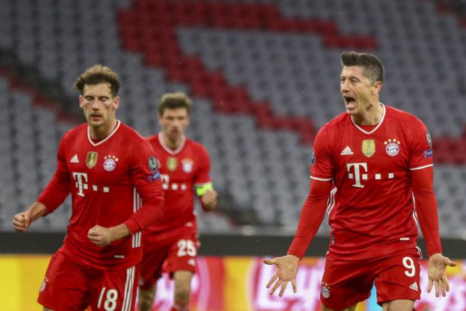 Bayern je vo štvrťfinále Ligy majstrov po devätnásty raz, v osmičke najlepších chýbajú Taliani