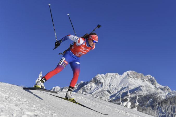 Ivona Fialková poskočila v stíhačke o 26 priečok, dosiahla druhý najlepší výsledok v kariére