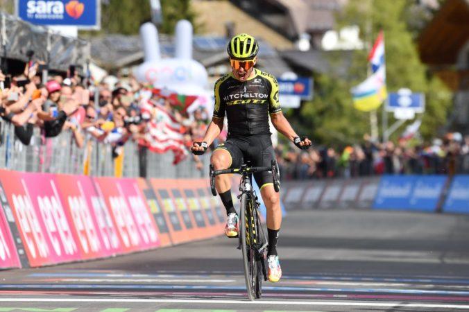 Chaves ukoristil štvrtú etapu Okolo Katalánska, Sagan medzi najlepšími v cieli chýbal