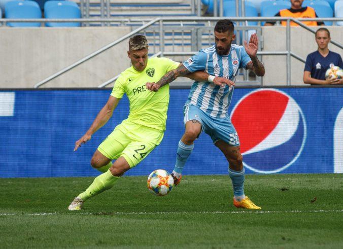 Rozhodca v zápase Slovana proti MŠK Žilina nepochybil. Podľa SFZ bol druhý pokutový kop nariadený správne