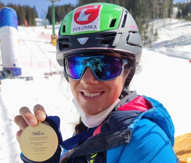 Skialpinistka Jagerčíková po dvoch rokoch opäť vyhrala šprint v Madonne di Campiglio