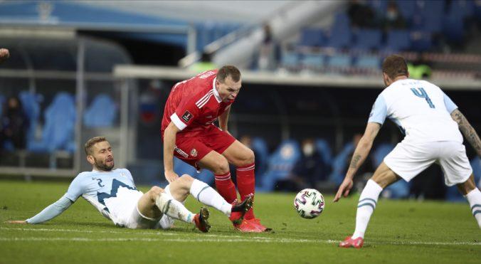 Rusi zdolali v kvalifikácii Slovincov, na získanie plného počtu bodov im stačilo desať minút