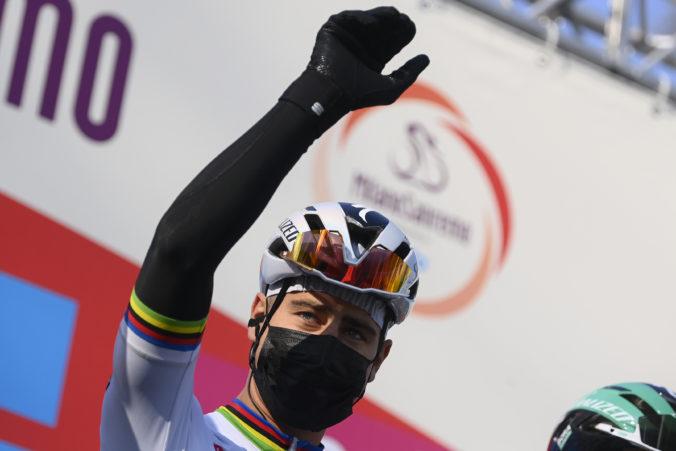 Sagan vyhral šiestu etapu Okolo Katalánska, v záverečnom šprinte odrazil útok Juhoafričana Impeyho