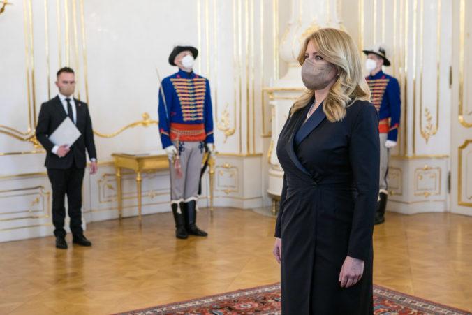 Prezidentka Čaputová vymenuje novú vládu bez ministra práce, Sme rodina prehodnocuje nomináciu