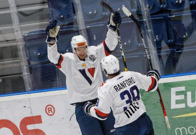 Slovan Bratislava v úvode play-off zaskočil Nitru fyzickou hrou, nastrieľal aj deväť gólov (video)