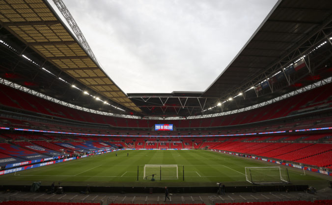 Angličania veria, že štadión Wembley bude počas ME vo futbale zaplnený do posledného miesta