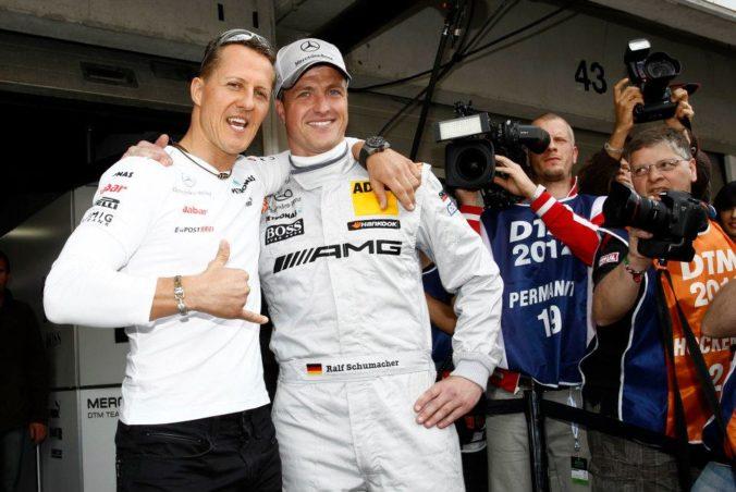 Michael mi otvoril dvere do formuly 1, tvrdí na adresu svojho slávnejšieho brata Ralf Schumacher