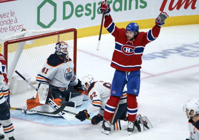 Tatar strelil ôsmy gól sezóny a prispel k triumfu Montrealu, Edmonton zdolali po predĺžení (video)